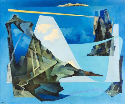 Tullio Crali, 'Belle Isle', 1957