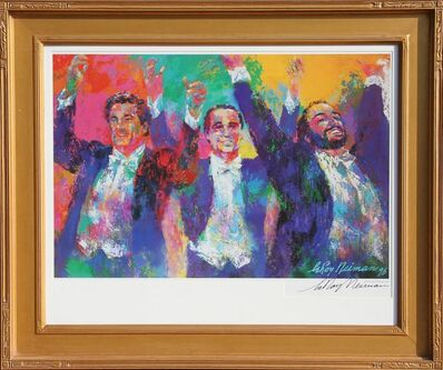 LeRoy Neiman, 'Three Tenors', 1996