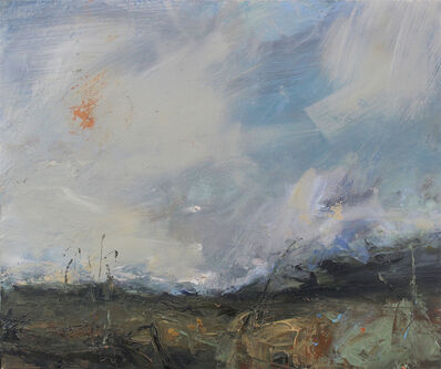 Janette Kerr, 'Weather coming in, Shetland', 2018