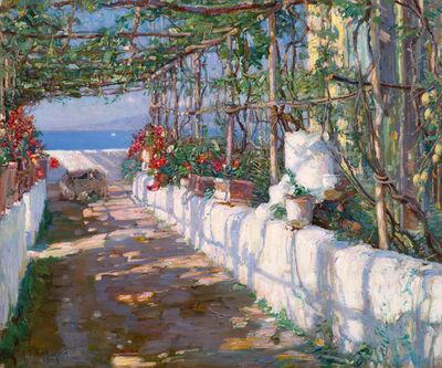 Aldro Thompson Hibbard, 'Capri, Italy', 1914