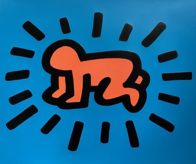 Keith Haring, 'Radiant Baby from Icons Portfolio ', 1990