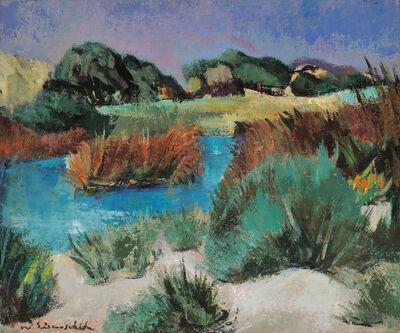 Willy Eisenschitz, 'Paysage d'Ibiza', 1955