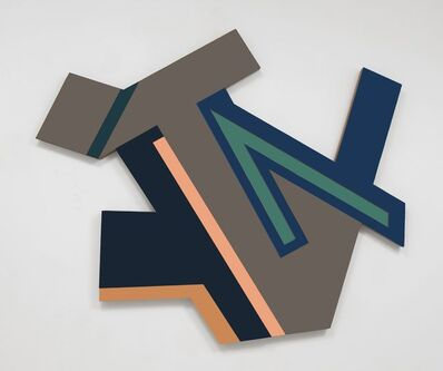Frank Stella, 'Jablonow', 1972