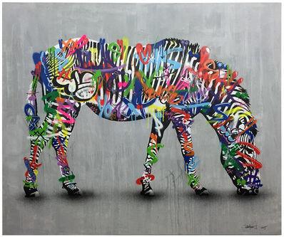 Martin Whatson, 'Large Zebra', 2015