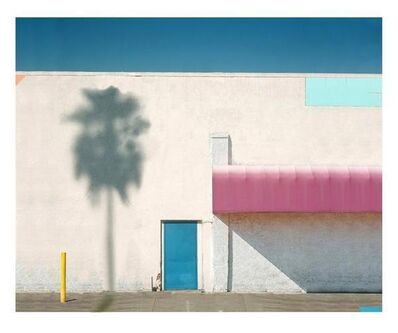 George Byrne, 'Pink Awning With Yellow', 2018