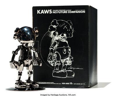 Kaws x Hajime Sorayama, 'No Future Companion (Black Chrome)', 2008