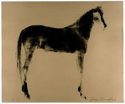 Joe Andoe, 'Horse x 12 ( Gold Reversal )', 1995