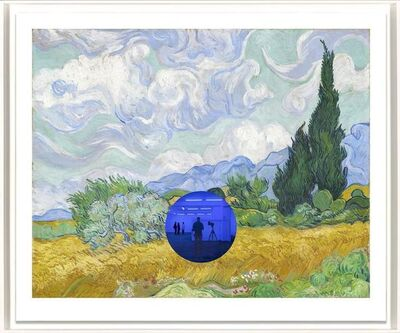 Jeff Koons, 'Gazing Ball (van Gogh Wheatfield with Cyresses)', 2018