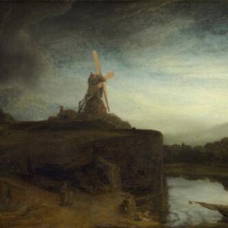 Rembrandt van Rijn, 'The Mill', 1645-1648