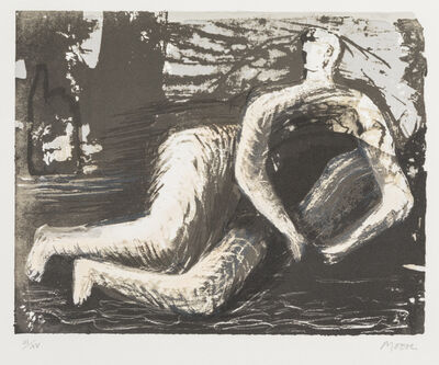 Henry Moore, 'Adam and Eve', 1980