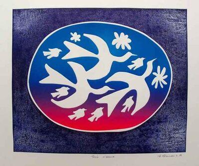Mireille Kramer, 'Trois Ouiseaux (Three Birds)', 1980