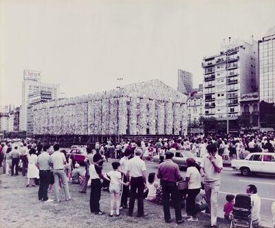 Marta Minujin, 'El Partenón de Libros', 1983