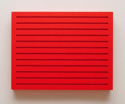 Donald Judd, 'Untitled (woodblock 4R)', 1989