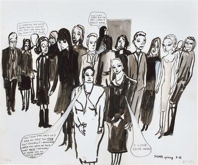 Amy Sillman, 'MoMA Opening', 2007