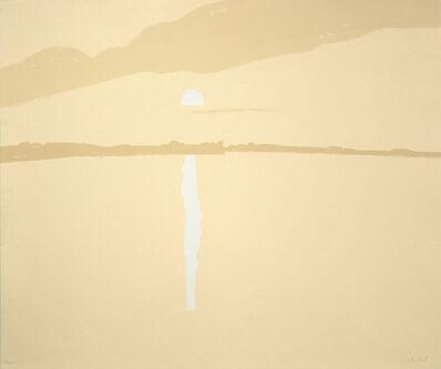 Alex Katz, 'Sunset: Lake Wesserunsett 4', 1972