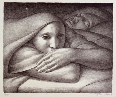 George Tooker, 'Night ', 1998