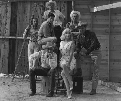 Elliott Erwitt, 'On the Set of »The Misfits« (Marilyn Monroe)', 1960