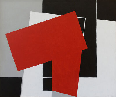 George Vranesh, 'Color Red', 1990