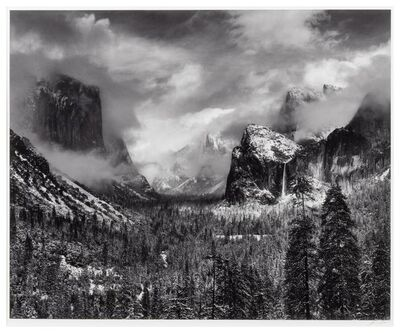 Ansel Adams, 'Clearing Winter Storm, Yosemite National Park', 1938