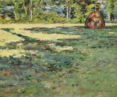 Theodore Robinson, 'Afternoon Shadows', 1891