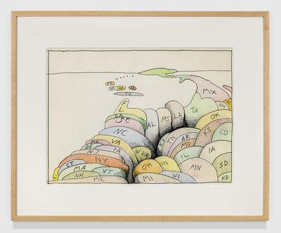 Saul Steinberg, 'untitled', 1986-1990
