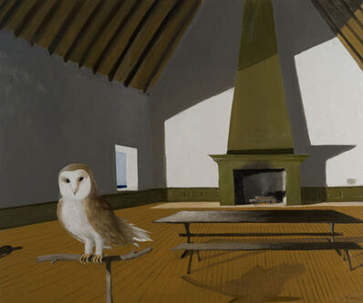 Julio Larraz, 'Radames in the Hall of Phrophecies', 2016