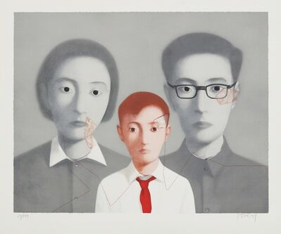 Zhang Xiaogang, 'Big Family', 2003