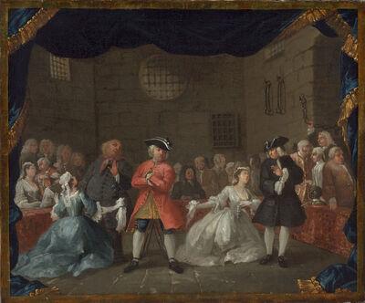 William Hogarth, 'A Scene from The Beggar's Opera', 1728/1729