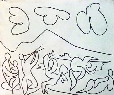 Pablo Picasso, 'Bacchanale ', 1959