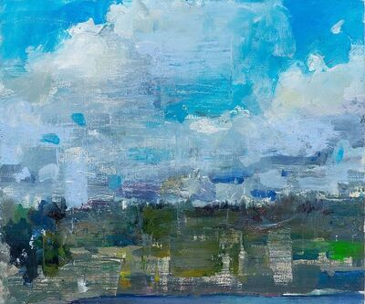 Gage Opdenbrouw, 'Clouds at Coupeville Ferry', 2019