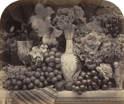 Roger Fenton, 'Fruit and Flowers', 1860