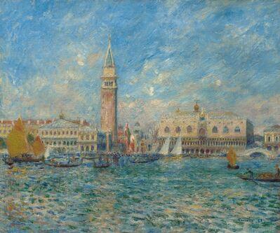 Pierre-Auguste Renoir, 'Venice, the Doge's Palace', 1881