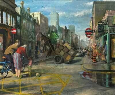 Paul Sattler, ' London Fantasy', 2015