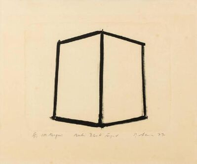 Richard Serra, 'Berlin Block Forged', 1977