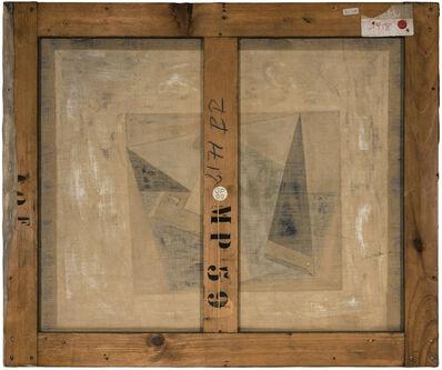 Philippe Gronon, 'Verso n°61, Verre et pipe, par Pablo Picasso, collection Musée national Picasso, Paris', 2016