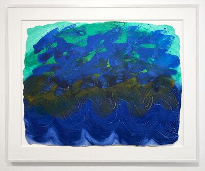 Howard Hodgkin, 'Indian Waves', 1990