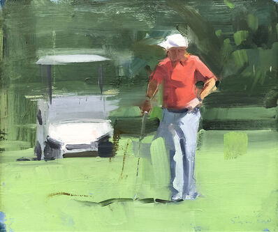 David Shevlino, 'Golf Cart', 2018