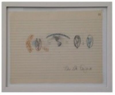 Anna Bella Geiger, 'Equações Variáveis', 1978