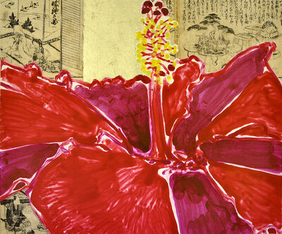 Robert Kushner, 'Red Hibiscus I', 2014