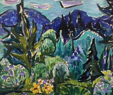 Werner Drewes, 'Vermont Scene (from Osgood's Window)', 1957