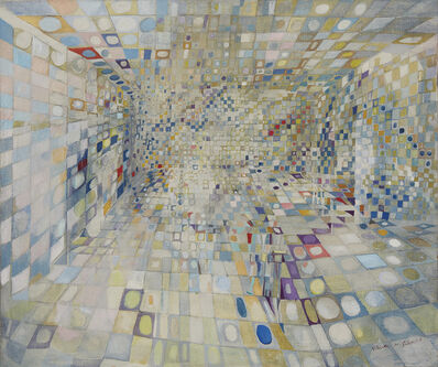 Maria Helena Vieira da Silva, 'Le couloir (ou Intérieur)', 1948
