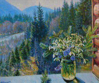 """Alexander Masyk, '""""Forest Snowdrops""""', 2019"""