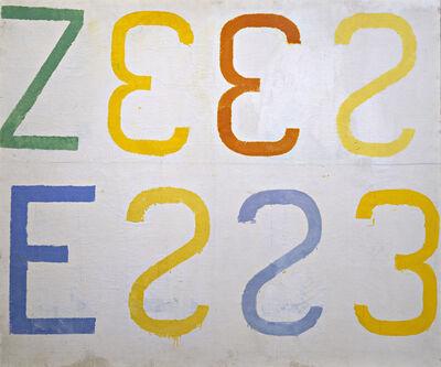 Jannis Kounellis, 'Senza titolo', 1961