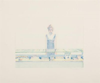 Wayne Thiebaud, 'Cosmetic Counter', 1991