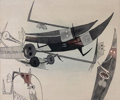 Wifredo Lam, 'Lames de Lam 2', 1977