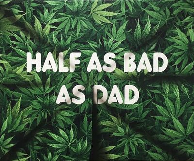 Adam Mars, 'Half As Bad As Dad', 2017