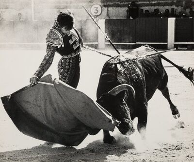 Lucien Clergue, 'El Cordobes', 1965