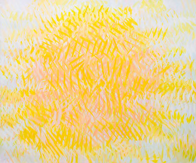 Samia Halaby, 'Sun', 2015