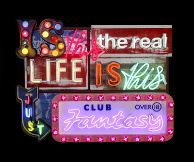 Chris Bracey, 'Is This The Real Life', 2014
