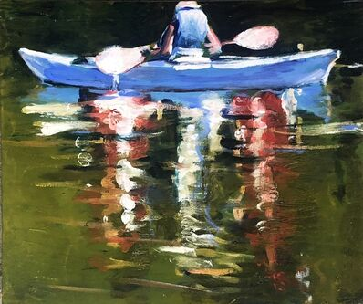 Deanna Forbes, 'Blue Boat', 2020